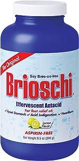 Brioschi Effervescent 8.5oz Bottle The Original Lemon Flavored Italian Effervescent - 1 Bottle