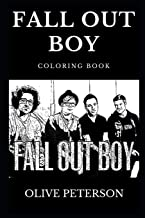 Fall Out Boy Coloring Book: Famous Pop Punk Band and Legendary Grammy Award Winners, Alternative Rock Pioneers and Musical Prodigy Inspired Adult Coloring Book (Fall Out Boy Books)