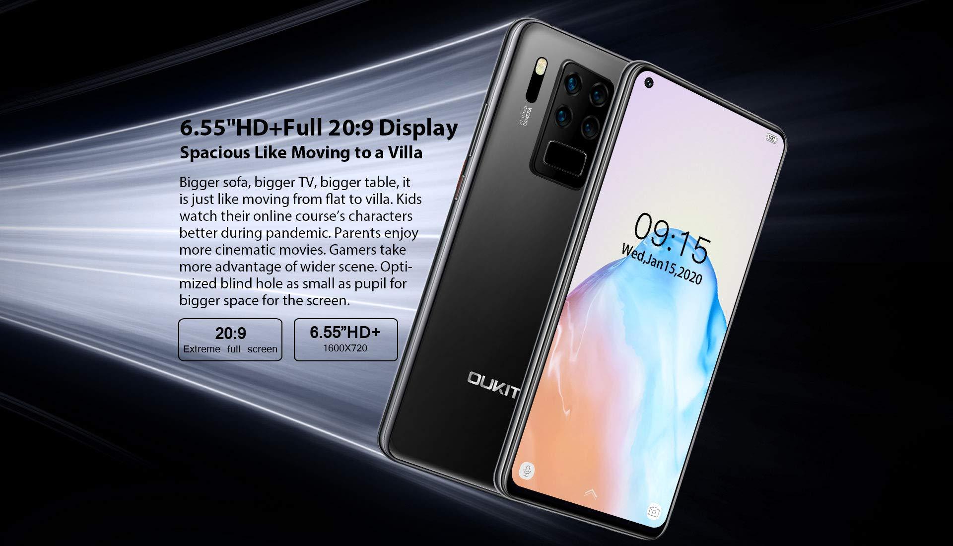 Teléfono Móvil 4G OUKITEL C18 Pro (2020), Cámara 16MP + 8MP + 5MP ...