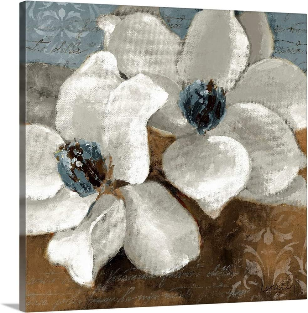 White Magnolias II Canvas Wall Industry No. 1 Some reservation Print Art Magnolia Artwork