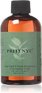 Soy Nail Polish Remover Lemongrass 4 fl. oz.