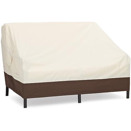 AmazonBasics Housse pour canapé lounge 2places à assise profonde