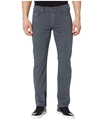 Paige Federal Slim Straight Leg in Pewter Stone (Pewter Stone) Men