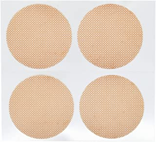 DoHope 25Pairs Mens Nipple Concealer Protector Invisible Nipple Covers Prevent Nipple Chafing Sticker Patch 3cm / 3.5cm