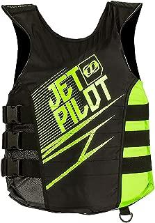 JetPilot Men's Matrix Nylon Side Entry PFD Life Vest Jacket (Large/X-Large,Green)