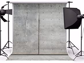 AOFOTO 10x10ft Photography Backdrop Girl Background Shabby Grey Wall Old Factory Floor Nostalgic Decadent Scene Photo Shoot Studio Props Video Boy Toddler Adult Lover Man Artistic Portrait