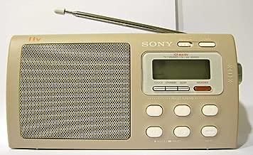 Sony Liv Portable 4-Band TV/Weather/FM/AM Clutch Radio ICF-M410LIV3