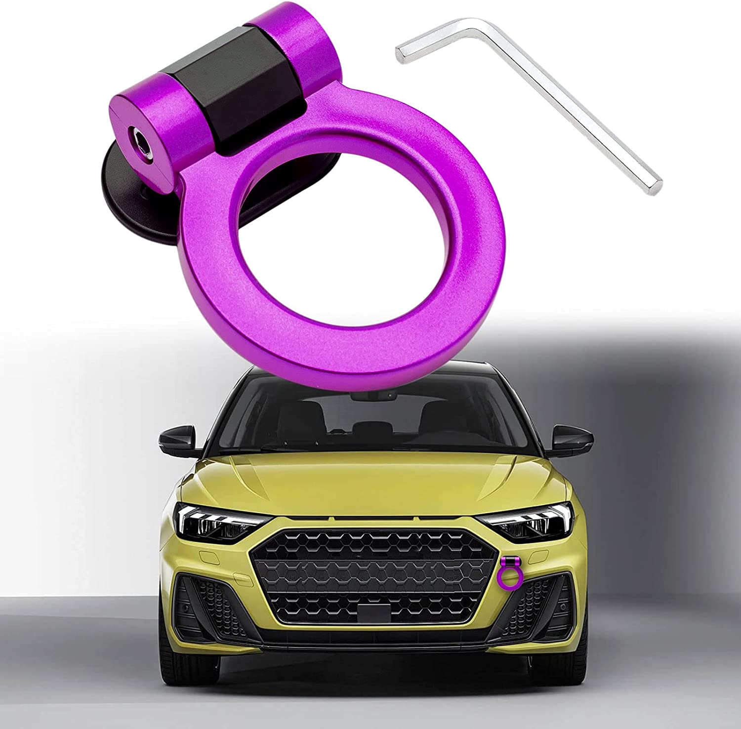 Xotic Tech Max 44% OFF Universal Purple JDM Free Shipping Cheap Bargain Gift Track Hook Ring Tow Style Racing