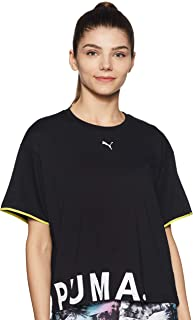 PUMA Women's Chase Cotton Tee T-Shirt