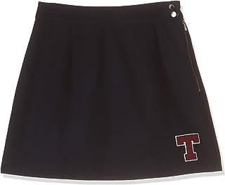 Tommy Hilfiger Women's DW0DW04631 Tommy Hilfiger A Line Skirt for Women - Navy Blue