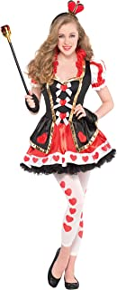 Christys Dress Up Teen Girls Queen Of Hearts Costume - Queen Of Hearts -UK-10-12Yrs by Amscan