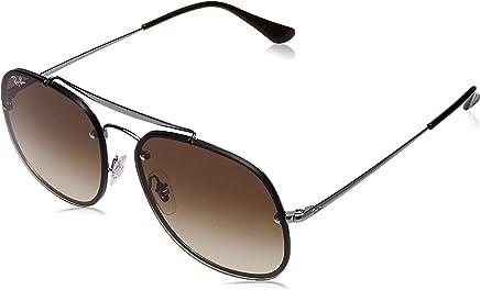 Ray Ban Unisex-Yetişkin Güneş Gözlükleri 0RB 3583N 004/13 58, GUNMETAL\BROWNGRADIENT,