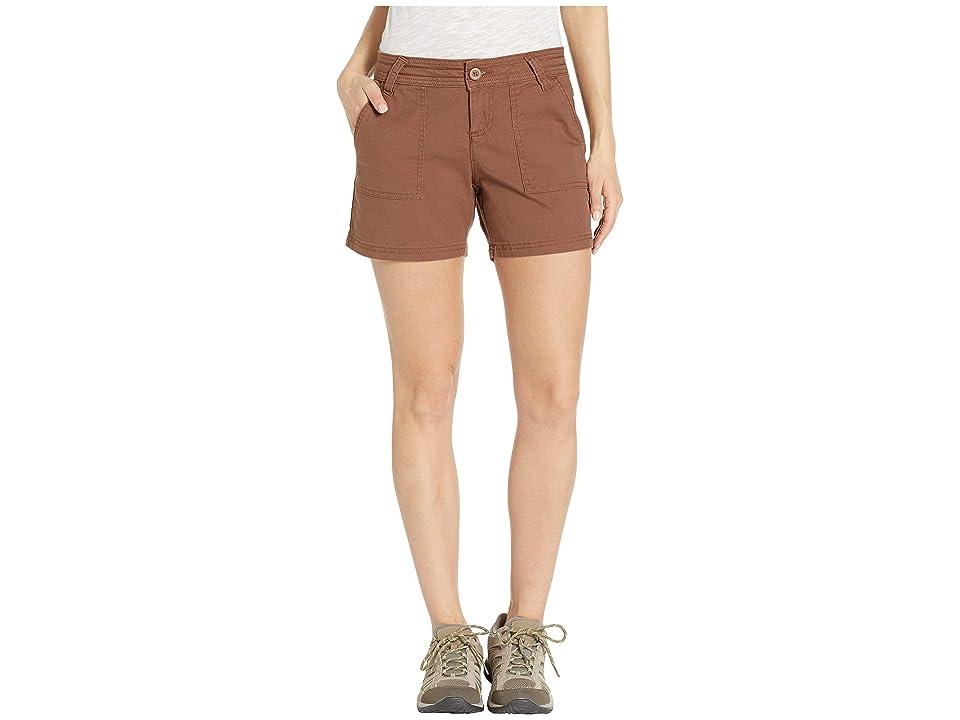 Prana Tess Shorts 5 (Driftwood) Women