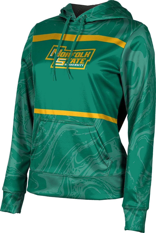 ProSphere Norfolk State University Girls' Pullover Hoodie, School Spirit Sweatshirt (Ripple)