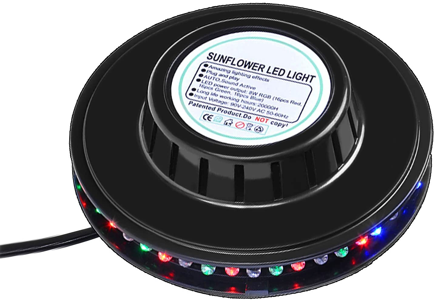 RGB Led Party It is very popular Light Finally popular brand Auto Rotating Stage For Sunflower K Lighting