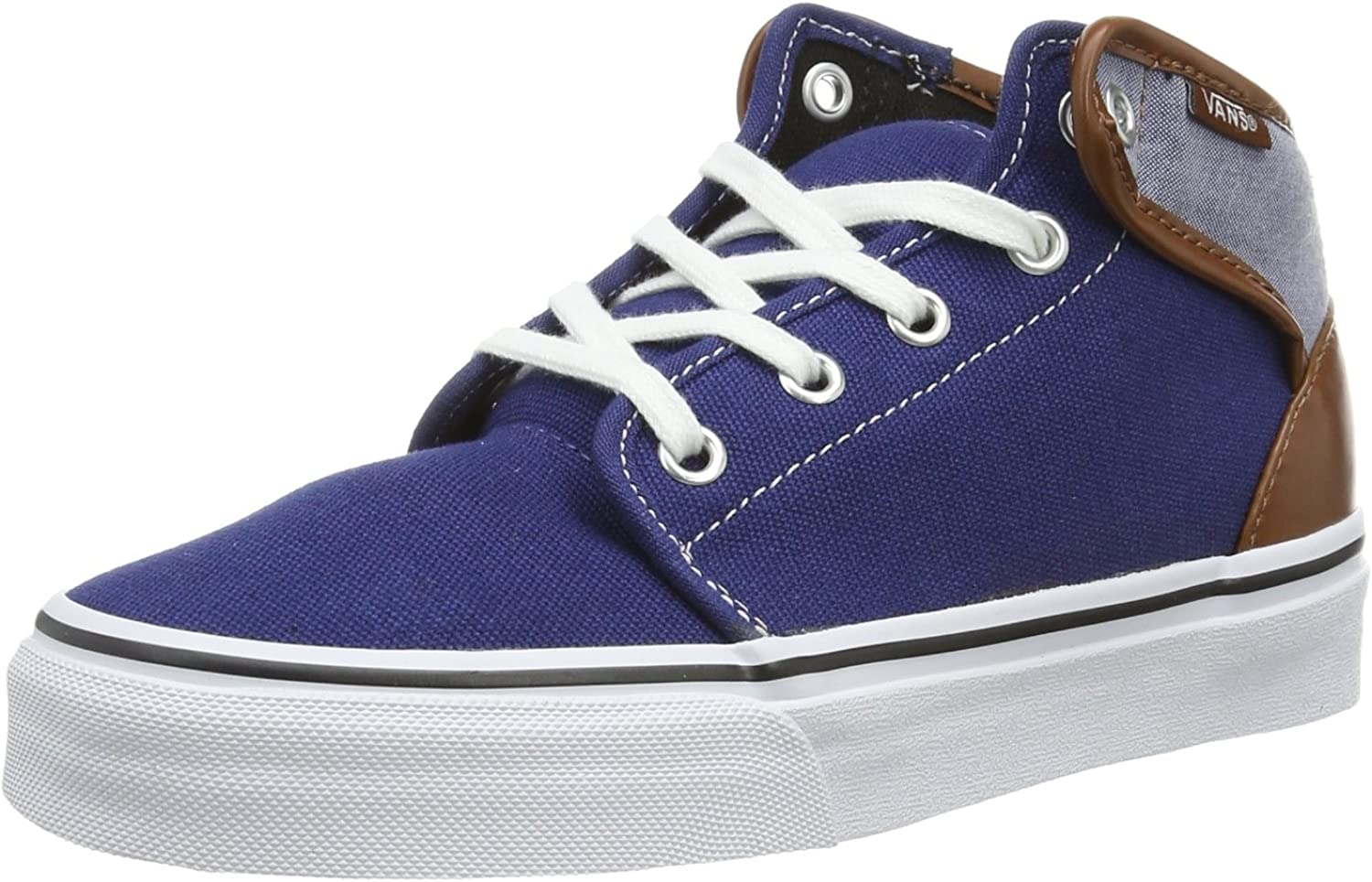 Vans U 106 Mid (Canvas Chamb, Unisex Adults' Hi-Top Slippers