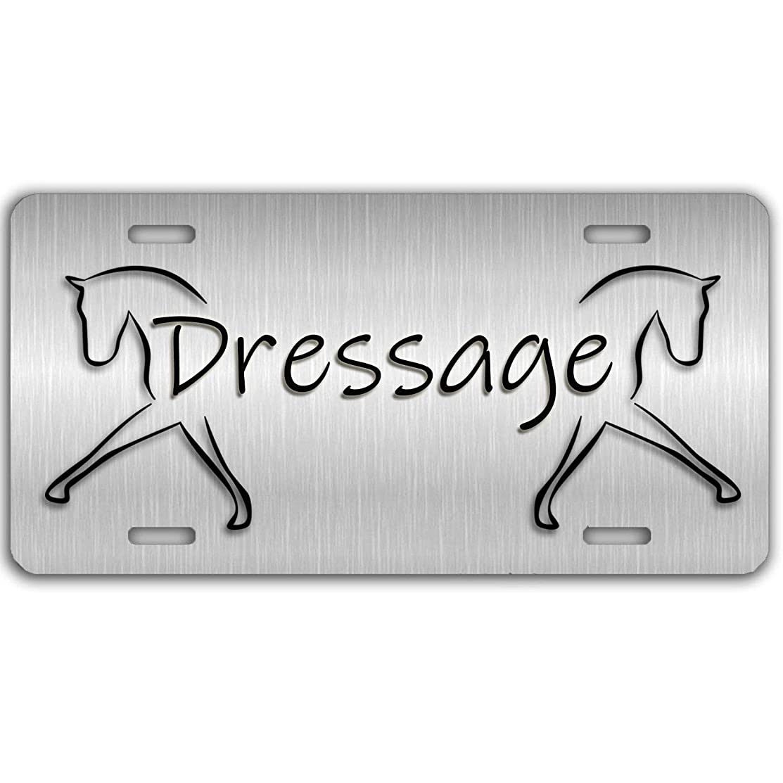 Personalized Aluminum License Plate Tag for Women/Men, Metal Sign Decor for US Vehicles - 12