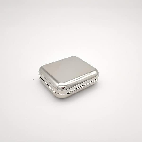 Lawrencewang68 Mini Portable Ashtray Windproof Cigarette Ash Holder Metal Cigar Ashtray For Outdoors