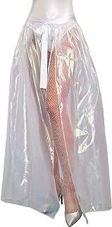 Dreamgirl Women's Iridescent Sparkly Maxi Skirt