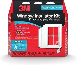 3M Indoor Window Insulator Kit Insulates 5 – 3'x5' Windows