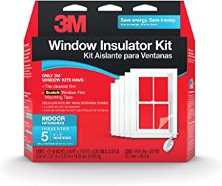 3M Indoor Window Insulator Kit Insulates 5 - 3'x5' Windows
