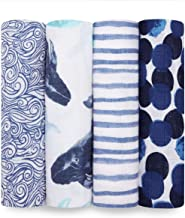 ideal baby muslin swaddles 4 pack