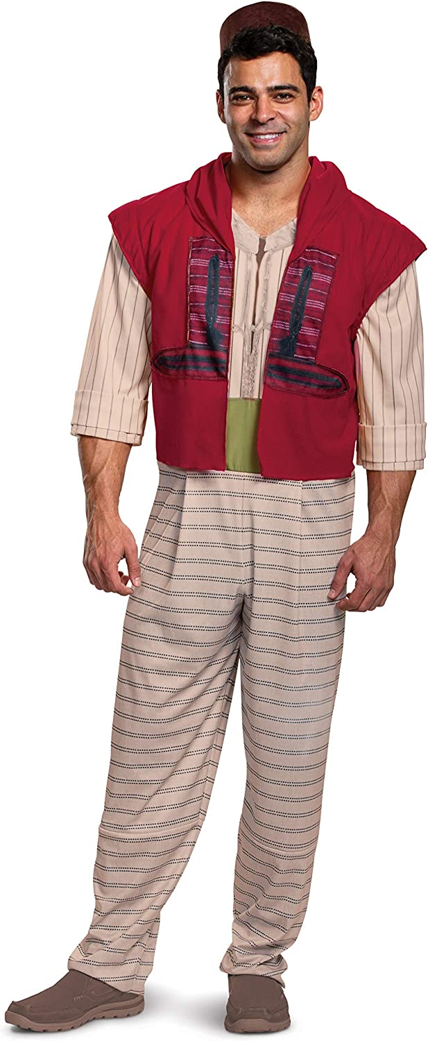 Disguise Men's Aladdin Japan 2021 Maker New Deluxe Costume Adult