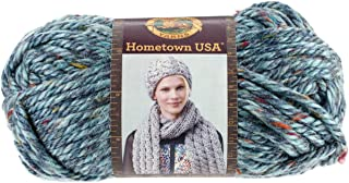 Lion Brand Yarn 135-308 Hometown Yarn, Key Largo Tweed (1 skein)