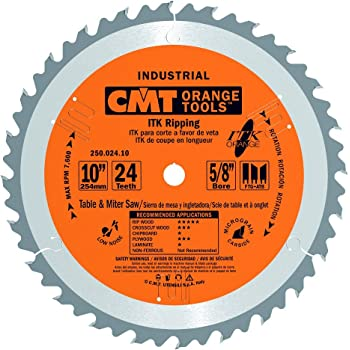 """1//8/"""" THICK CMT299.102.00 INCLUDES TWO CMT ORANGE TOOLS SAW BLADE STABILZER"""