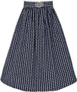 Gwandlalm Damen Broschen Dirndlschürze 65cm dunkelblau, Marine, S
