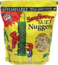 Bird Products/Food Sunflower Suet Nuggets (6 Units), Small