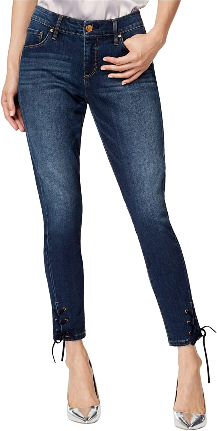 Vintage America Charlotte NEW before selling Mall Wonderland Jeans Skinny Lace-Up