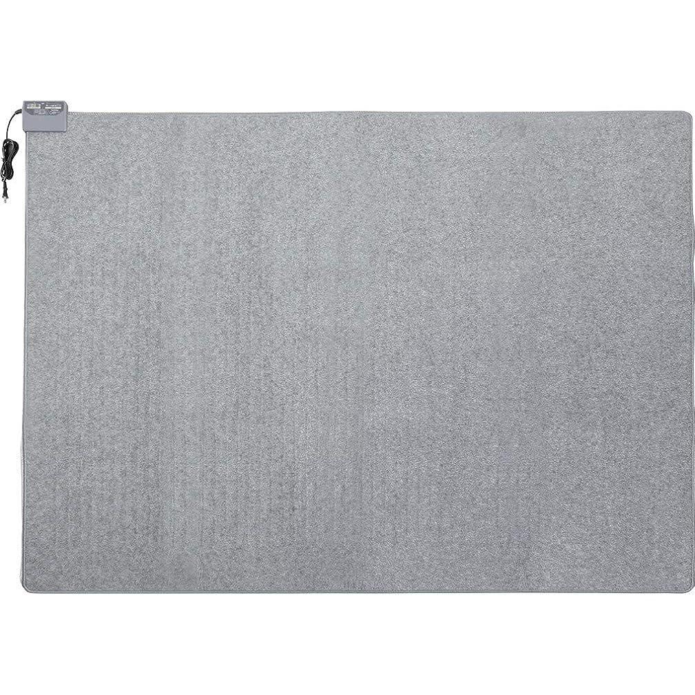 宣教師ドループメールを書くアイリスオーヤマ ホットカーペット 3畳 室温センサー付き グレー HCM-T2420-H
