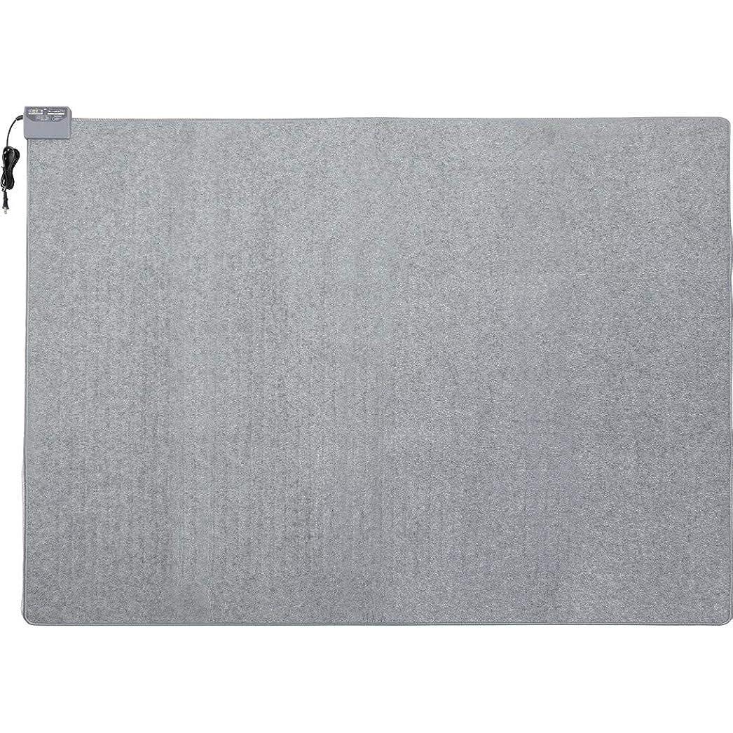 扇動する感謝祭過敏なアイリスオーヤマ ホットカーペット 3畳 室温センサー付き 195×235cm グレー HCM-T2420-H