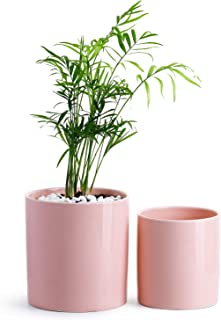 Best large pink flower pot Reviews