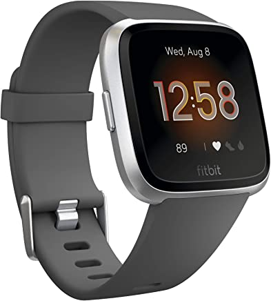 Fitbit Versa Smart Watch, One Size (S & L Bands Included)