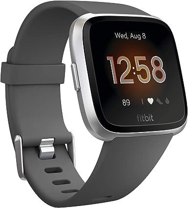 Fitbit Reloj inteligente Versa, talla única (bandas S y L incluidas)