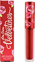 product image for Lime Crime Metallic Velvetines Liquid Matte Lipstick, Red Hot - Metallic Cherry Red - French Vanilla Scent - Long-Lasting Liquid Metal Matte Lipstick - Won't Bleed or Transfer - Vegan