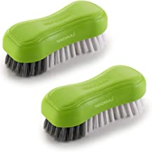 MADHULI PROCLEAN Specially Designed Premium Cloth Brush/Floor Scrubbing Brush/Cleaning Brush/pack of 2 (Green,Color May va...