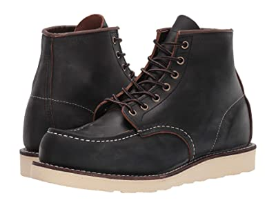 Red Wing Heritage 6 Moc Toe (Black Prairie) Men