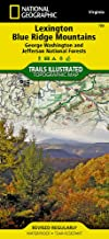 jefferson national forest hiking trails map