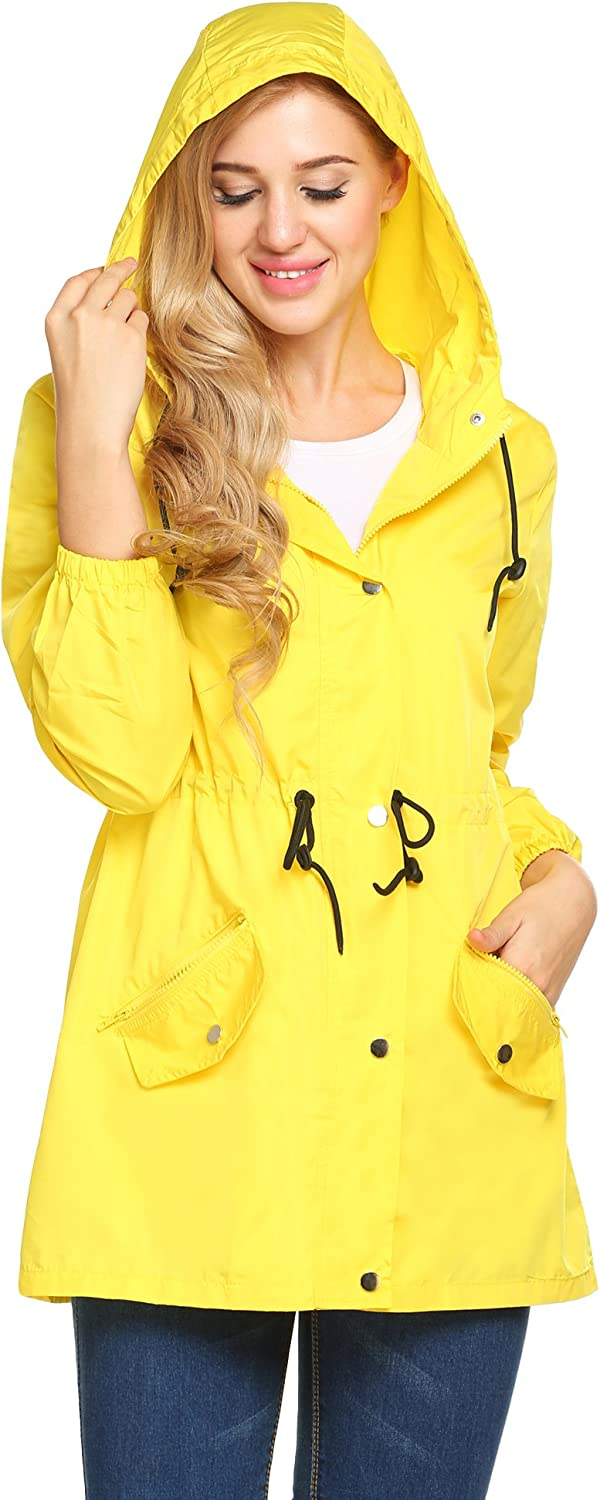 UNibelle Spring New life Jacket for Women Out Raincoat Hooded Super beauty product restock quality top Lightweight
