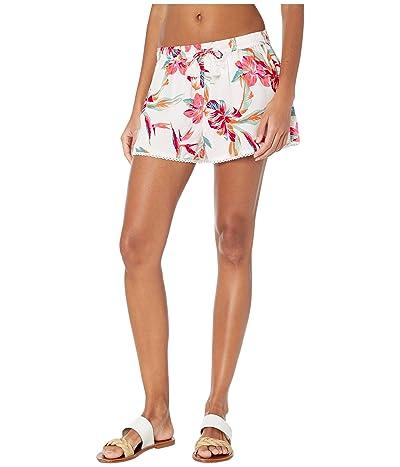 Roxy Salty Tan Shorts (Bright White Tropic Call) Women
