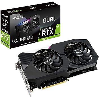 ASUS NVIDIA GeForce RTX 3060TI 搭載 デュアルファンモデル 8G DUAL-RTX3060TI-O8G