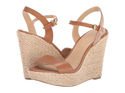 MICHAEL Michael Kors Jill Wedge (Acorn) Women