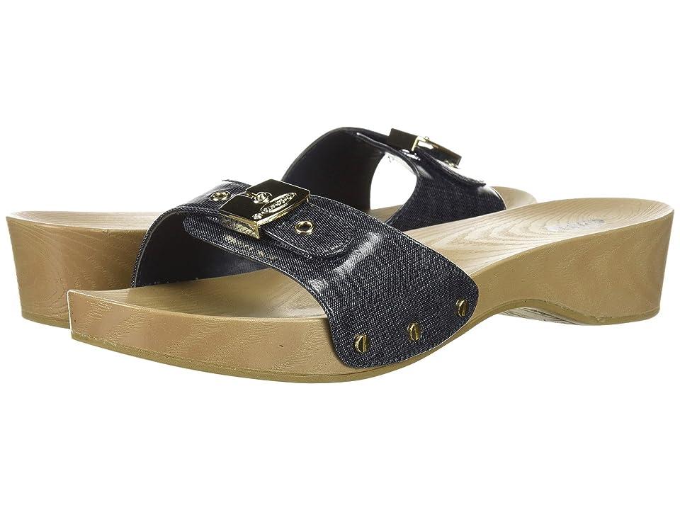 90c9aa041ded47 Dr. Scholl s Classic (Denim Print) Women s Slide Shoes