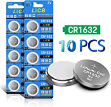 LiCB CR1632 CR 1632 3V Lithium Battery(10PCS)
