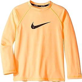 6cd78b4e Heather Camo Swoosh Long Sleeve Hydro Guard (Little Kids/Big Kids). Nike  Kids