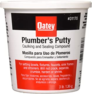 Oatey Plumber's Putty 3 lb. Plastic Container