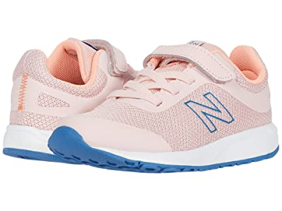 New Balance Kids 455v2 (Infant/Toddler) (Peach Soda/Ginger Pink) Girls Shoes